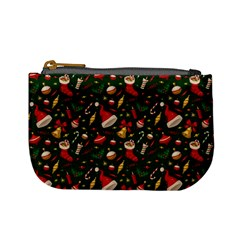 Hat Merry Christmast Mini Coin Purses