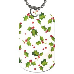 Images Paper Christmas On Pinterest Stuff And Snowflakes Dog Tag (two Sides) by AnjaniArt