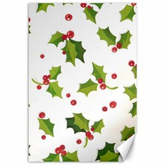 Images Paper Christmas On Pinterest Stuff And Snowflakes Canvas 12  X 18   by AnjaniArt