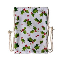 Images Paper Christmas On Pinterest Stuff And Snowflakes Drawstring Bag (small)