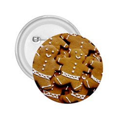 Gingerbread Men 2 25  Buttons by AnjaniArt