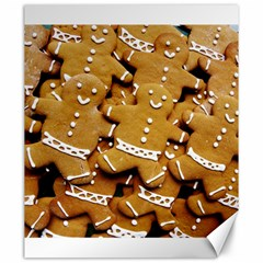 Gingerbread Men Canvas 20  X 24   by AnjaniArt