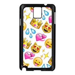 King Cat Smile Water Love Christmast Samsung Galaxy Note 3 N9005 Case (black)