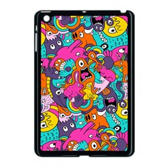 Jumble Bunny Apple Ipad Mini Case (black) by AnjaniArt