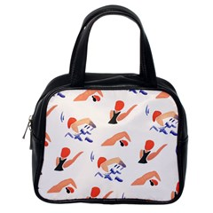 Olympics Swimming Sports Classic Handbags (one Side) by AnjaniArt