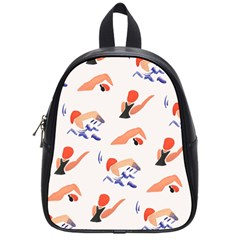 Olympics Swimming Sports School Bags (small)  by AnjaniArt