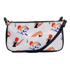 Olympics Swimming Sports Shoulder Clutch Bags by AnjaniArt