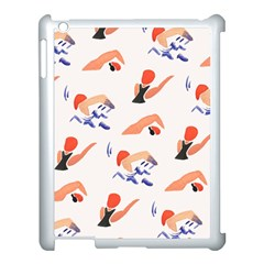 Olympics Swimming Sports Apple Ipad 3/4 Case (white)