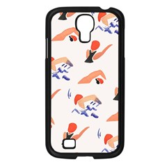 Olympics Swimming Sports Samsung Galaxy S4 I9500/ I9505 Case (black) by AnjaniArt