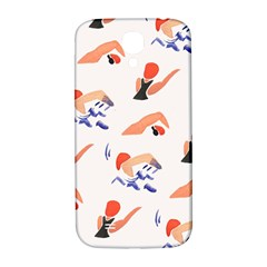 Olympics Swimming Sports Samsung Galaxy S4 I9500/i9505  Hardshell Back Case by AnjaniArt