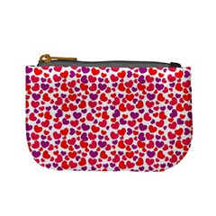 Love Pattern Wallpaper Mini Coin Purses by AnjaniArt