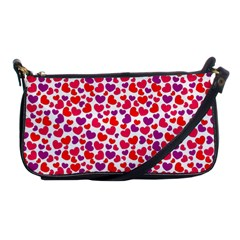 Love Pattern Wallpaper Shoulder Clutch Bags
