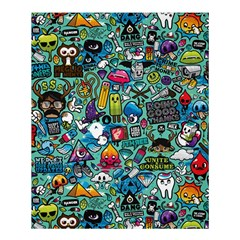 Monster Shower Curtain 60  X 72  (medium)  by AnjaniArt