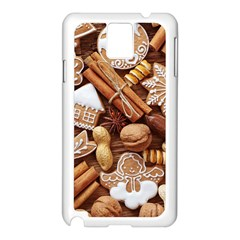 Nuts Cookies Christmas Samsung Galaxy Note 3 N9005 Case (white)