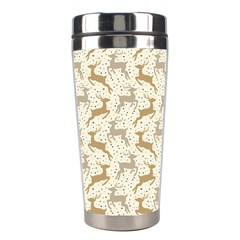 Paper Gift Deer Stainless Steel Travel Tumblers