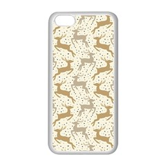 Paper Gift Deer Apple Iphone 5c Seamless Case (white) by AnjaniArt
