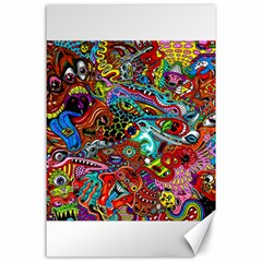 Moster Mask Canvas 24  X 36  by AnjaniArt