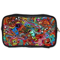 Moster Mask Toiletries Bags 2 Side by AnjaniArt