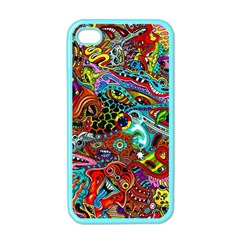 Moster Mask Apple Iphone 4 Case (color) by AnjaniArt