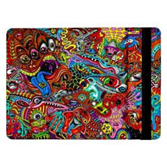 Moster Mask Samsung Galaxy Tab Pro 12 2  Flip Case by AnjaniArt