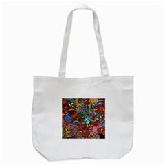 Moster Mask Tote Bag (white) by AnjaniArt