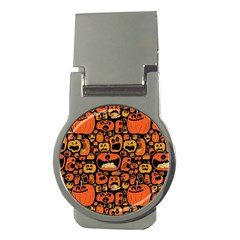Pumpkin Helloween Money Clips (round)  by AnjaniArt