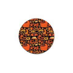 Pumpkin Helloween Golf Ball Marker (10 Pack) by AnjaniArt