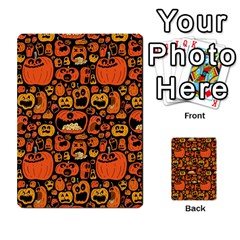 Pumpkin Helloween Multi Purpose Cards (rectangle)  by AnjaniArt