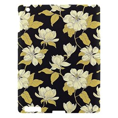 Pattern Rose Apple Ipad 3/4 Hardshell Case by AnjaniArt