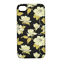 Pattern Rose Apple Iphone 4/4s Hardshell Case With Stand by AnjaniArt
