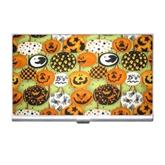 Print Halloween Business Card Holders