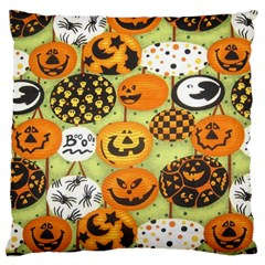 Print Halloween Large Cushion Case (two Sides)