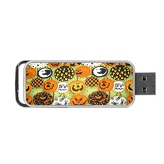 Print Halloween Portable Usb Flash (one Side)