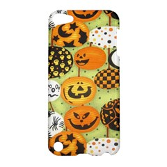 Print Halloween Apple Ipod Touch 5 Hardshell Case by AnjaniArt