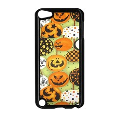 Print Halloween Apple Ipod Touch 5 Case (black) by AnjaniArt