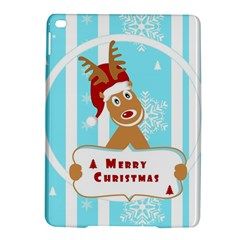 Santa Claus Reindeer Christmas Ipad Air 2 Hardshell Cases by AnjaniArt