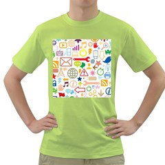 Sign Green T Shirt