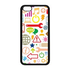 Sign Apple Iphone 5c Seamless Case (black) by AnjaniArt
