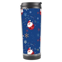 Santa Clause Travel Tumbler by AnjaniArt