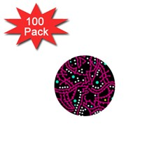 Pink Fantasy 1  Mini Buttons (100 Pack)  by Valentinaart