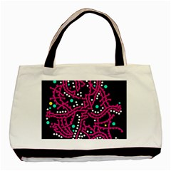 Pink Fantasy Basic Tote Bag by Valentinaart