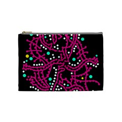 Pink Fantasy Cosmetic Bag (medium)  by Valentinaart