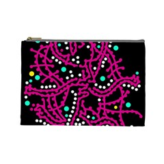 Pink Fantasy Cosmetic Bag (large)