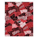 Tals Stupid Shower Curtain 60  x 72  (Medium)  54.25 x65.71 Curtain