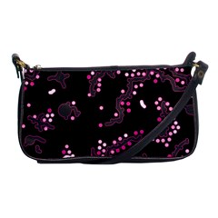 In My Mind   Pink Shoulder Clutch Bags by Valentinaart