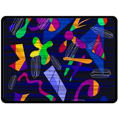 Colorful Dream Fleece Blanket (large)