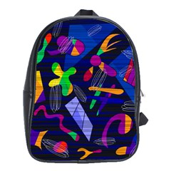 Colorful Dream School Bags (xl)  by Valentinaart
