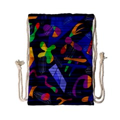 Colorful Dream Drawstring Bag (small) by Valentinaart