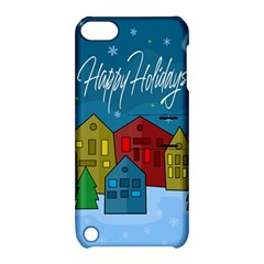 Xmas Landscape Apple Ipod Touch 5 Hardshell Case With Stand by Valentinaart