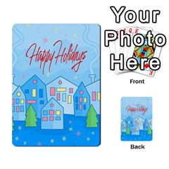 Xmas Landscape   Happy Holidays Multi Purpose Cards (rectangle)  by Valentinaart